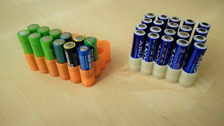 Parametrische batterij-opberger