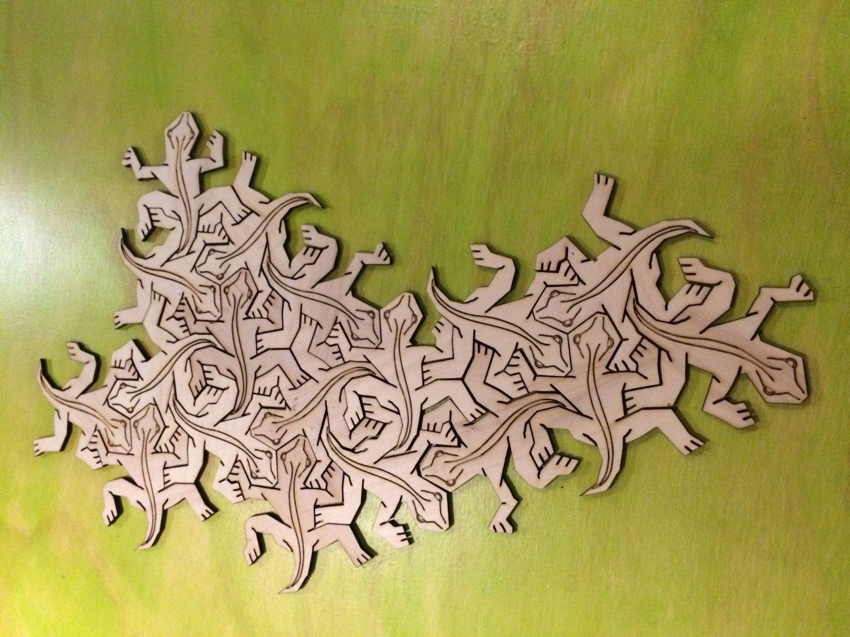Find the Lizard (Van Escher natuurlijk)