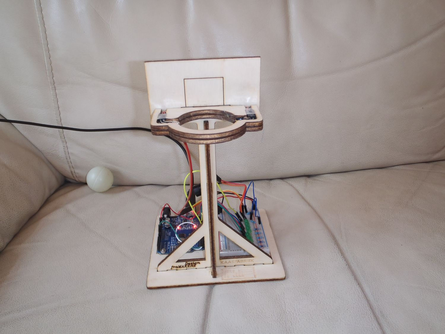 Arduino basketbalspel