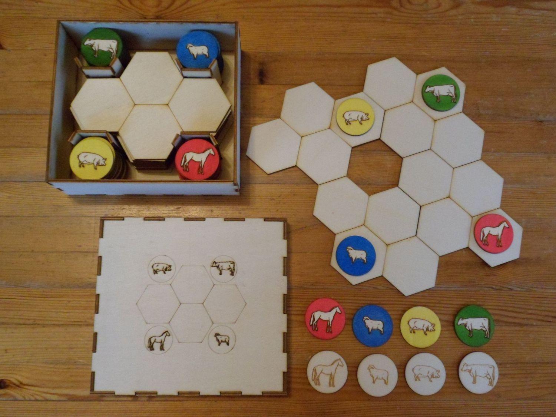 Eigen versie van bestaand spel (Battle Sheep)